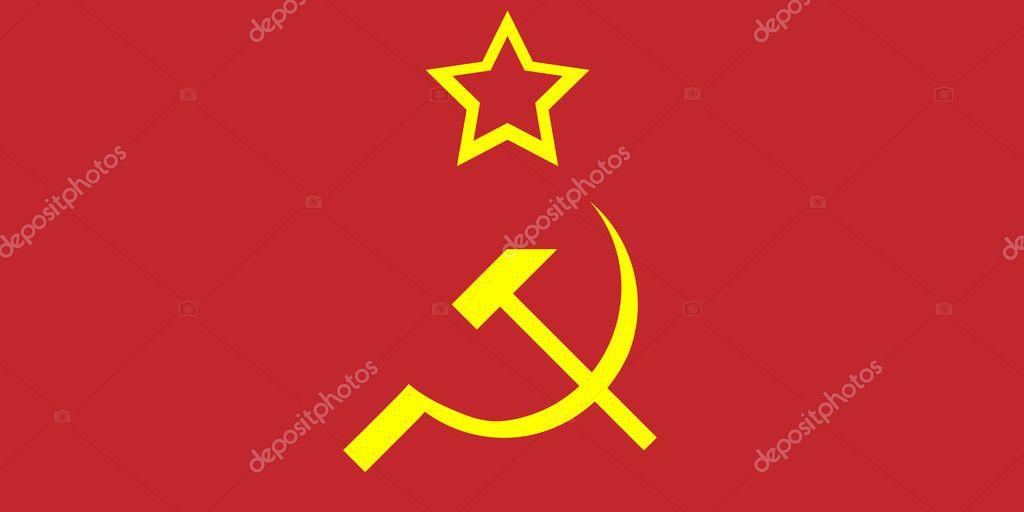 Soviet Union Flag Stock Vector Konstsem 6868072