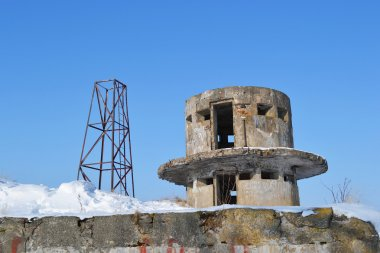 View of old fort Obruchev, Russia