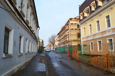 Street in the old part of Minsk