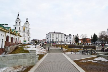 Area in the center of Minsk