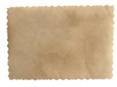 Old blank photo paper for background and texture