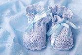 kék Babacipők