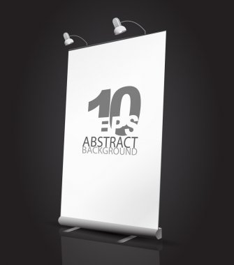 Vector expanding banner stand