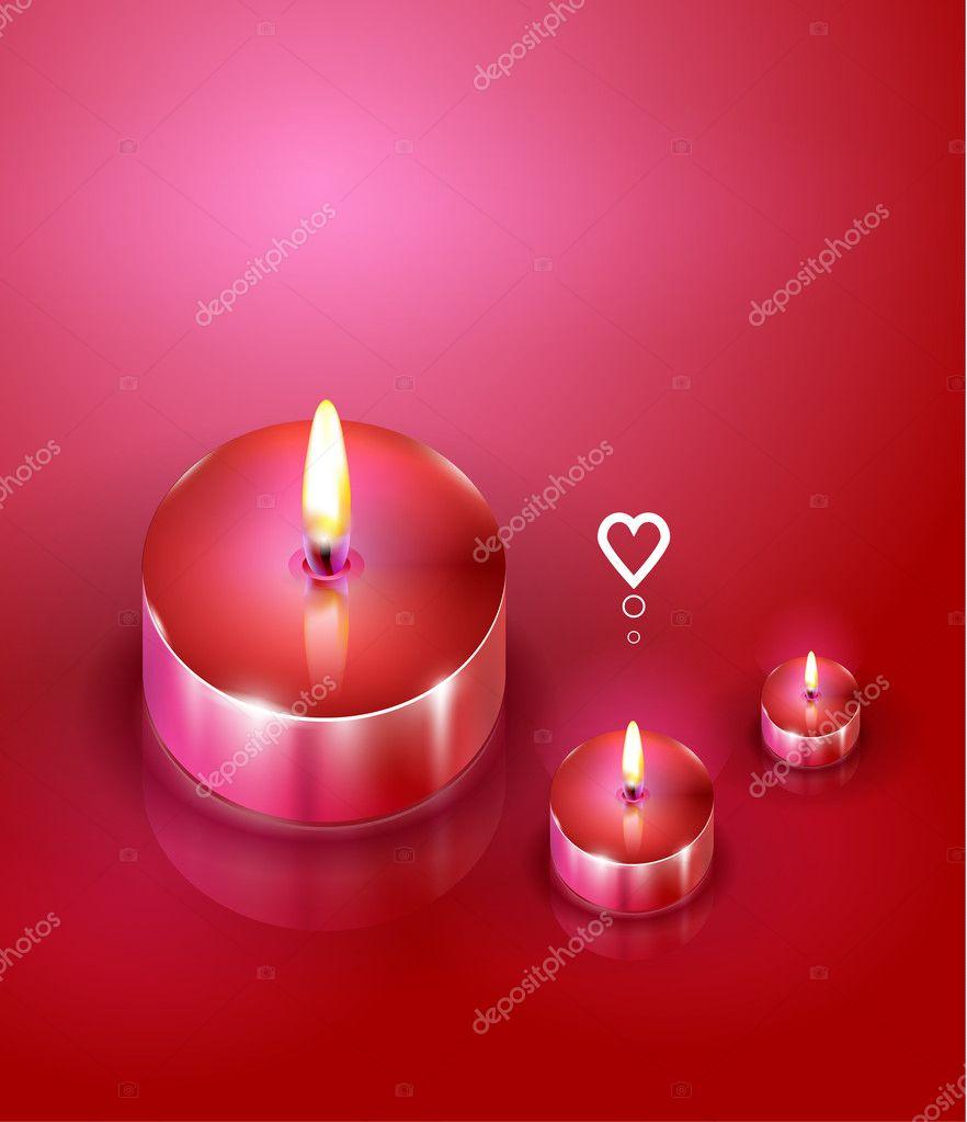 Velas de aroma fundo rom ntico vetores de stock akomov 7720921 - Aromas para velas ...