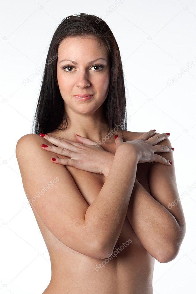 набухший член невероятной толщины держат девки в руках