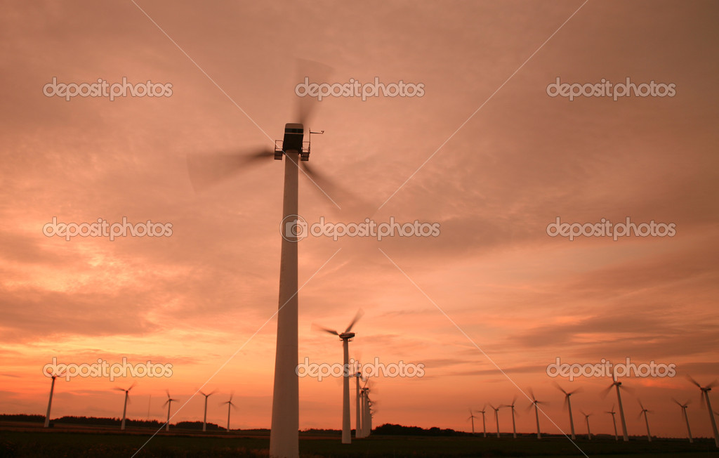 Electricity wind mills