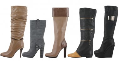 Female boot collection