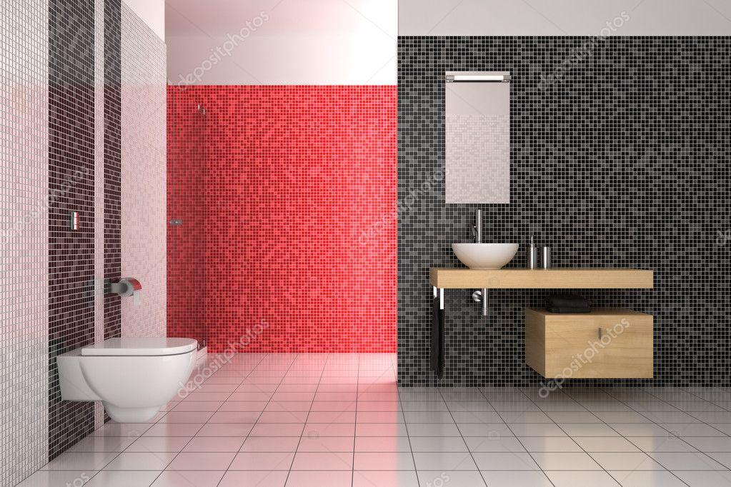 Witte tegels badkamer