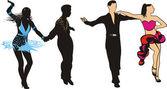 Fotografie Dancers - latin american