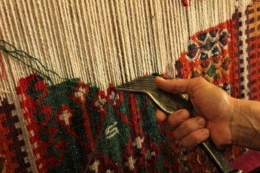 Rug Anatolian motifs