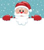 Santa gazdaság üres papír