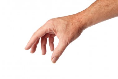 Male hand