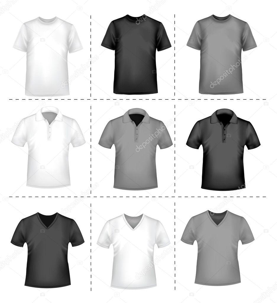 Shirt design illustrator template - T Shirt Design Template Vector Illustration Vector By Almoond