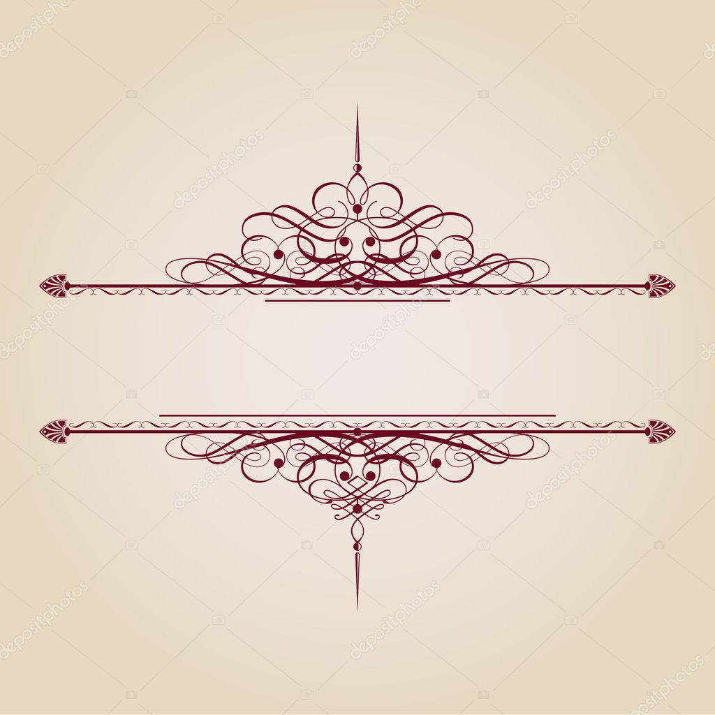 Vintage Ornamental Banner — Stock Vector © EnginKorkmaz ...