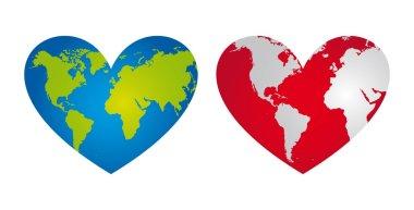 heart-shaped planet