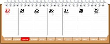 Empty diary