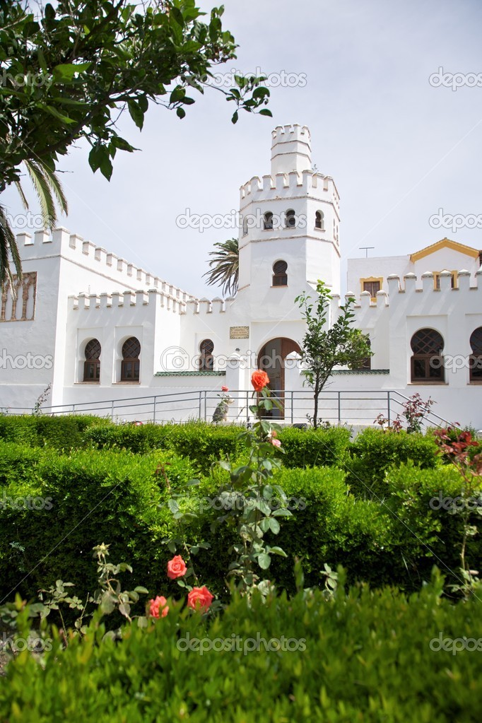 Arabe Batiment Dans Jardin Photographie Quintanilla C 6857307 - Jardin-arabe