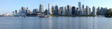 Vancouver BC skyline panorama, Canada.