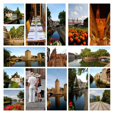 The beautiful city of Strasbourg - Alsace - France
