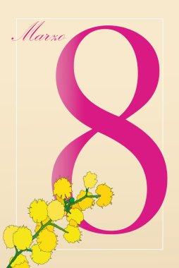 March 8, International Women's Day (italian)