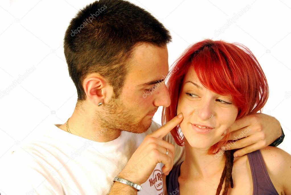 Смотреть двое имеют рыжую