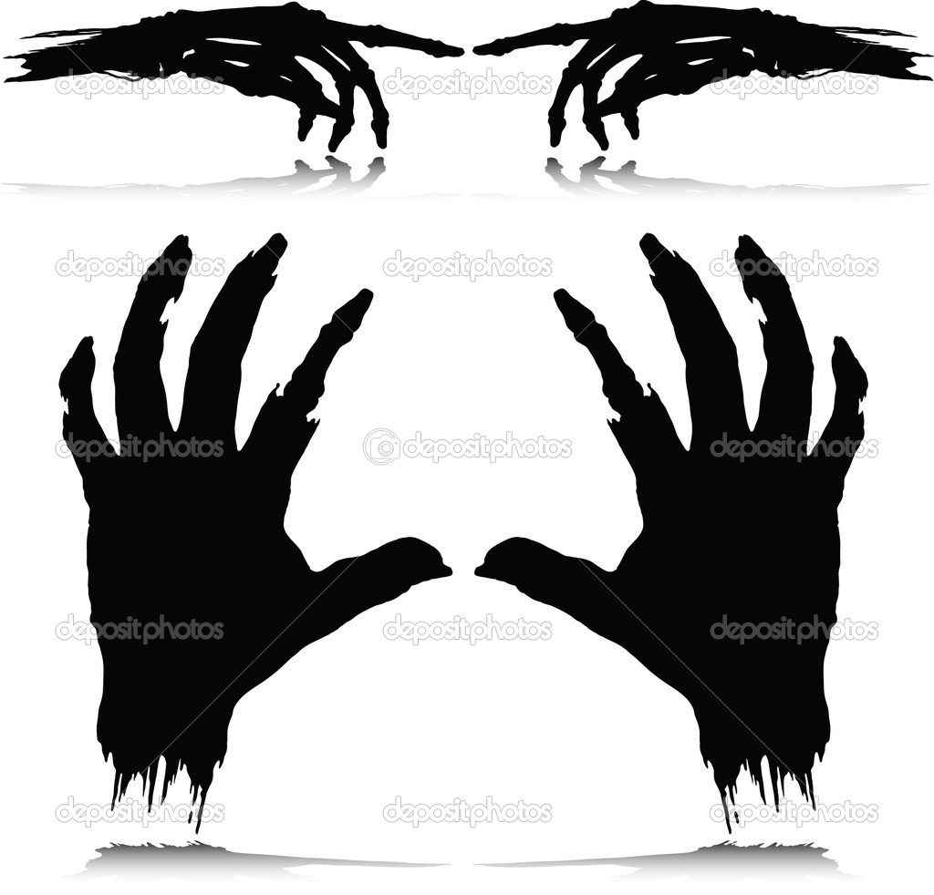 Monster grote zwarte hanen