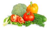 frischem Gemüse