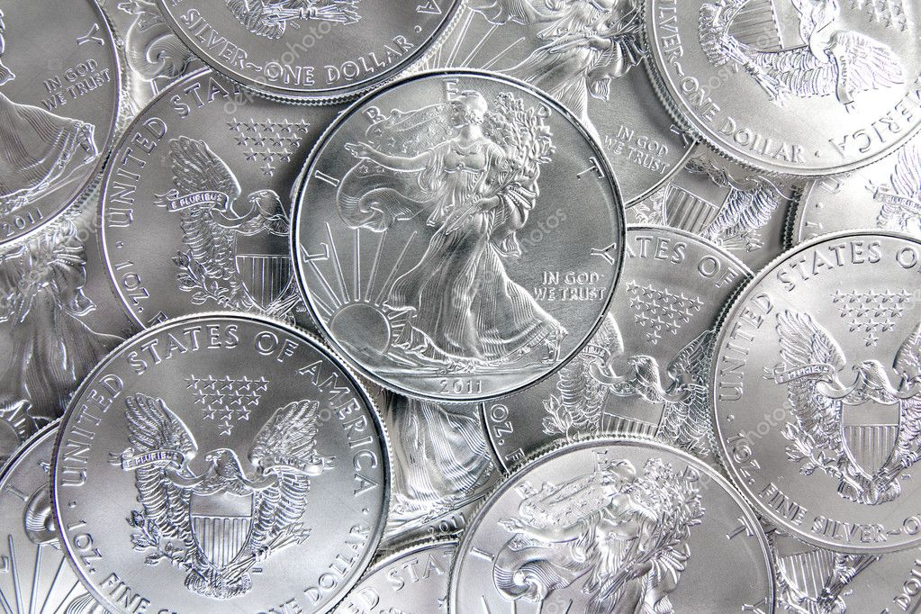 Uncirculated American Silver Eagle Coins