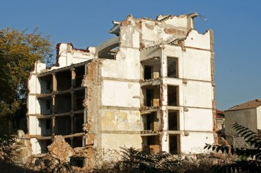 Old demolished building