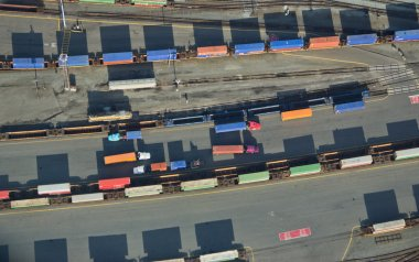 Freight Trucks and Trains