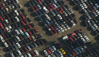 Junkyard Rows - Aerial