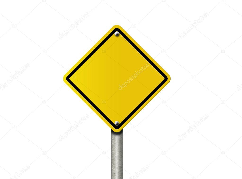 Blank Warning