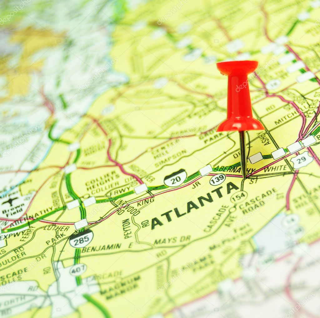 Atlanta Us Stock Photo C Lucianmilasan 7054972 - Atlanta-us-map