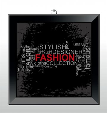 FASHION - Word collage