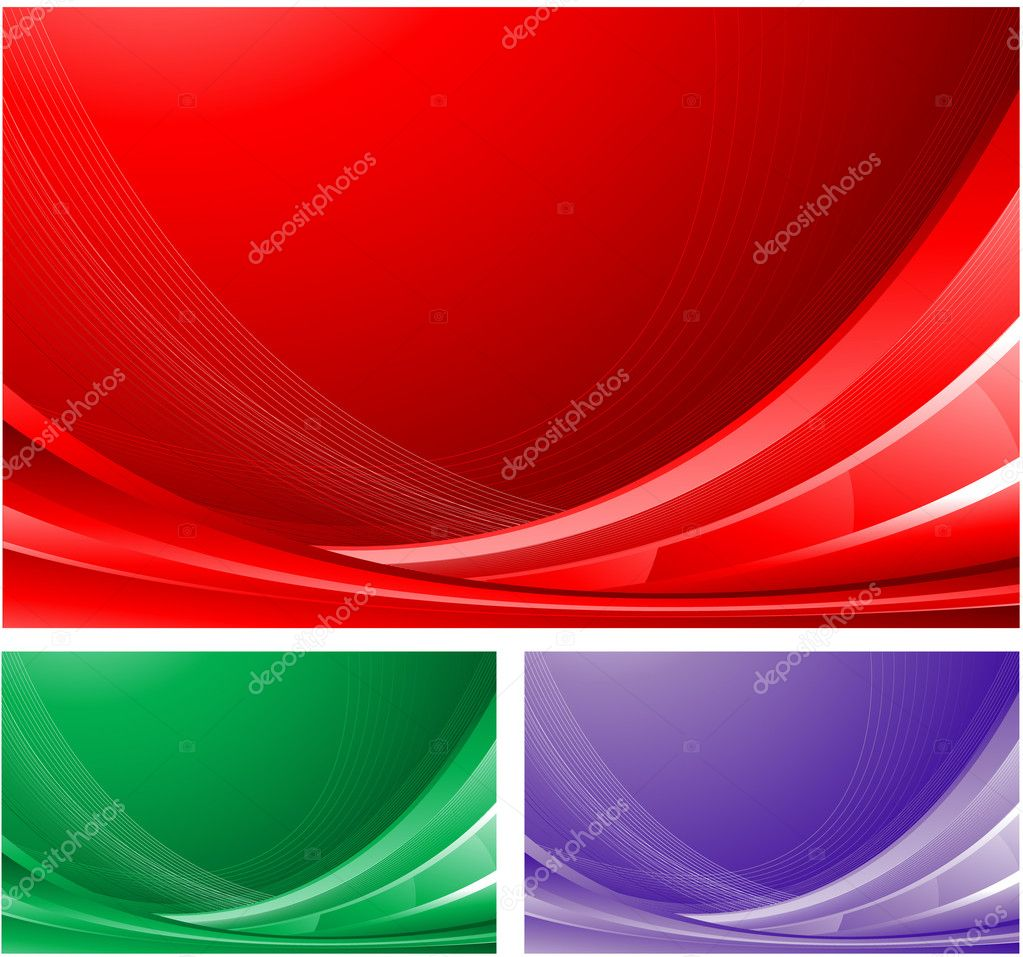 Red abstract business background