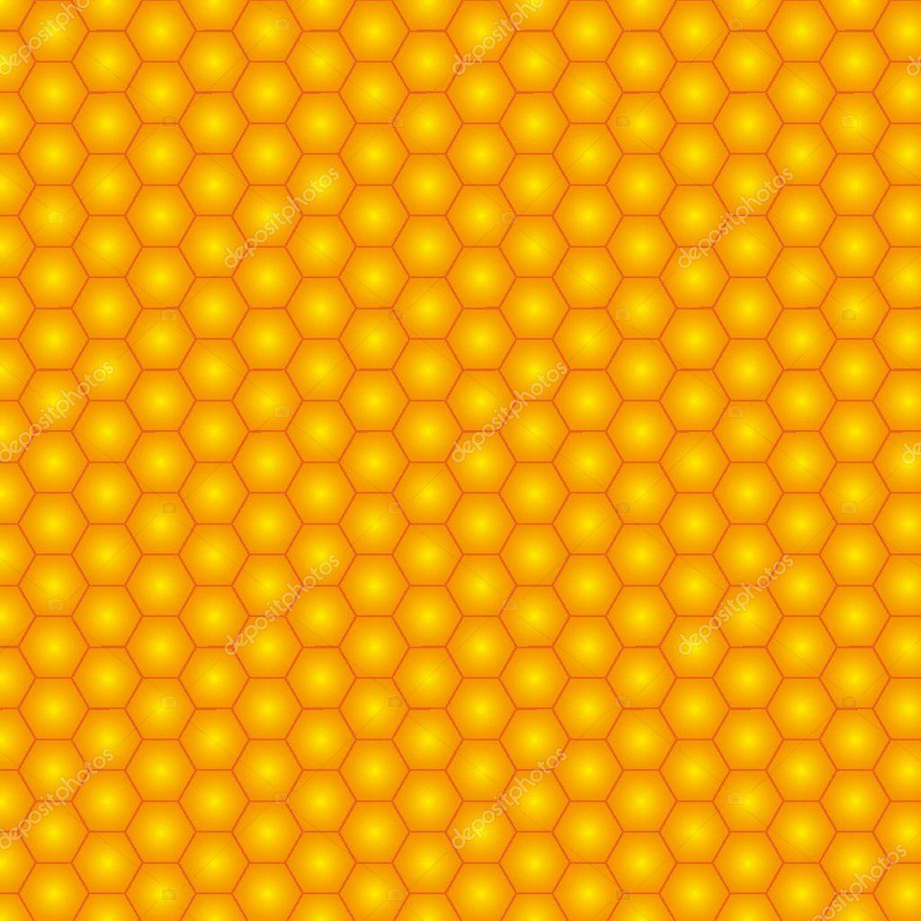 Seamless honeycomb. vector illustration