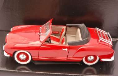 Red car toy