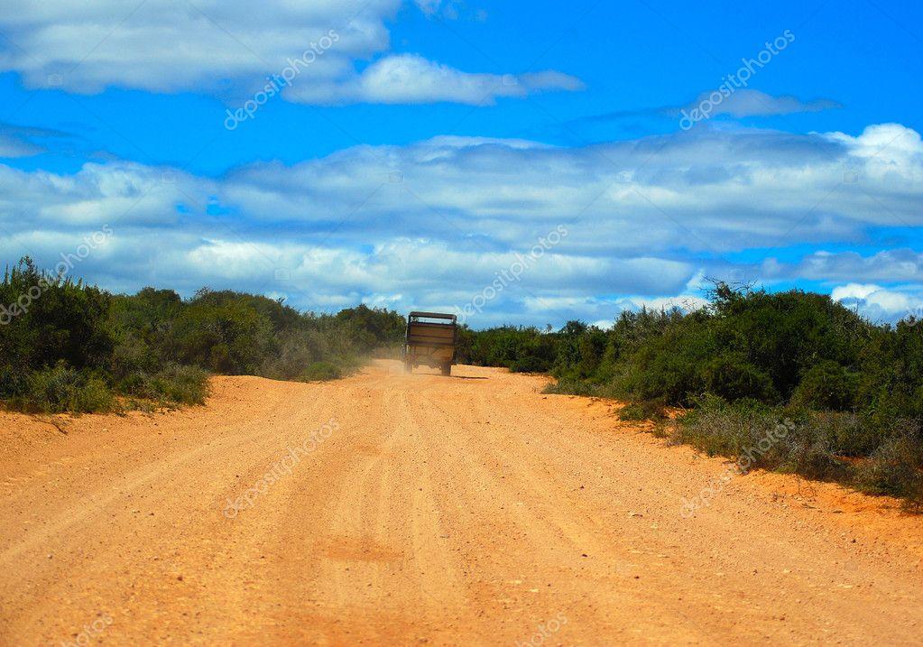 African adventure road