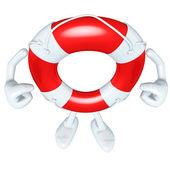 Lifebuoy Mascot Figure