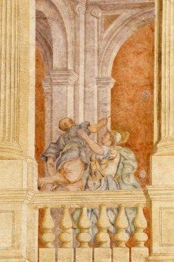 """Картина, постер, плакат, фотообои """"Ривьера дель Брента (Венето, Италия): историческая вилла, картины o"""", артикул 7492106"""