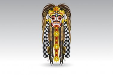 Leak Traditional Bali Demon Mask