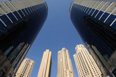 """Картина, постер, плакат, фотообои """"modern apartment buildings in the city"""", артикул 7792351"""