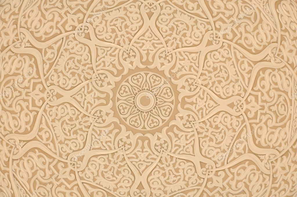 Oriental arabic decoration background stock photo for Decoration orientale