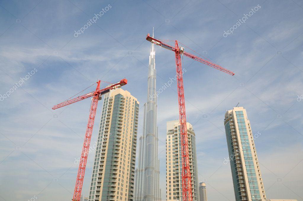 Cantiere di costruzione a dubai foto stock philipus for Cantiere di costruzione