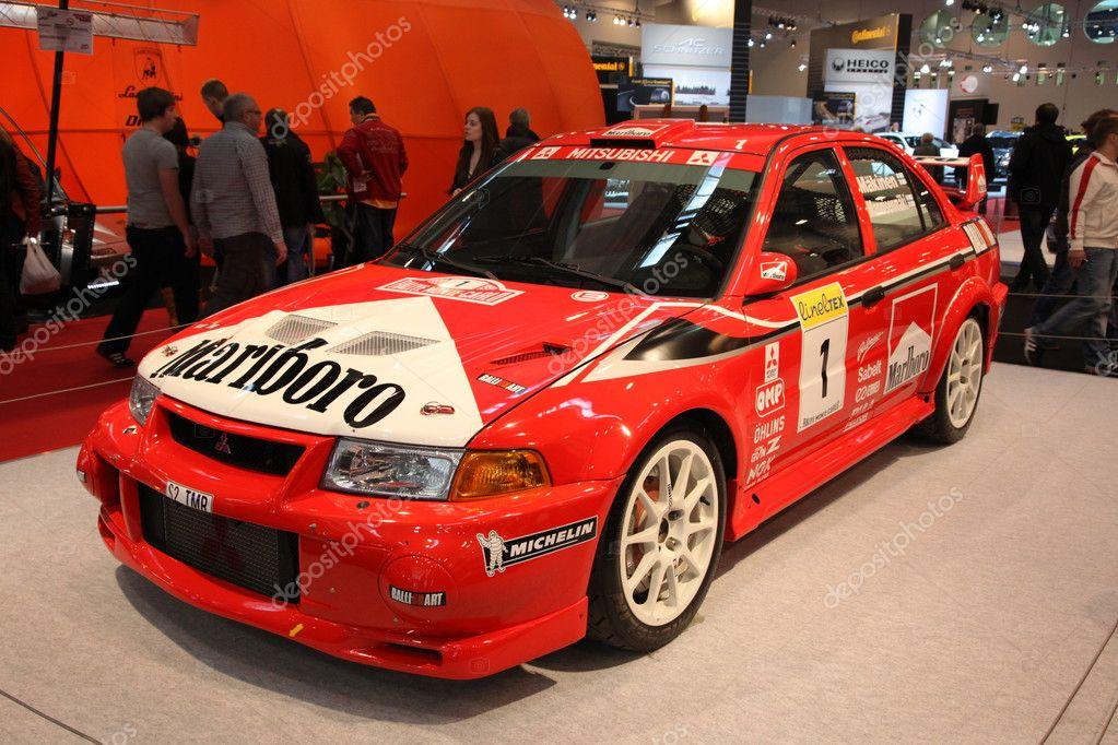 Mitsubishi Lancer Evo Vi Rally Race Car Stock Editorial Photo