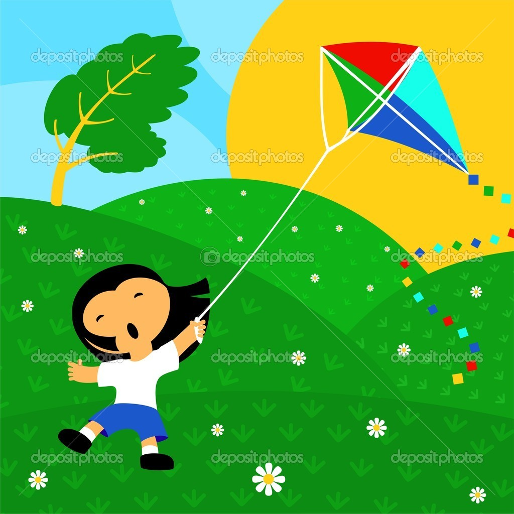 Good day and kite