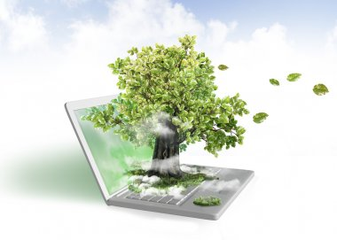 Green energy from laptop
