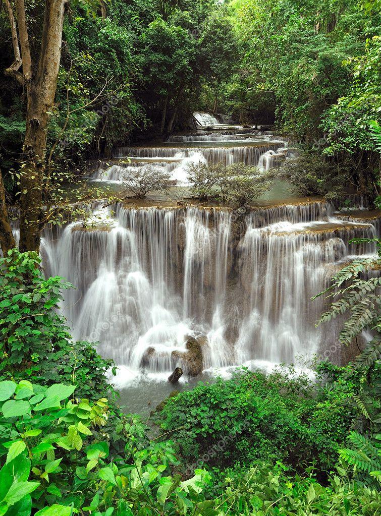 Huay Mae Khamin Waterfall ,Thailand