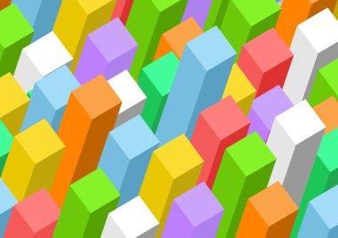Rectangular prism background