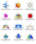 konstrukční prvky pro logo